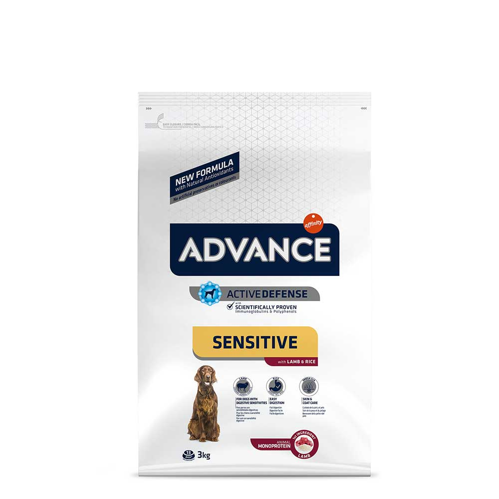Advance|Dog Food|Adult|Medium|Maxi|Digestive Sensitive|Skin Sensitive|Lamb